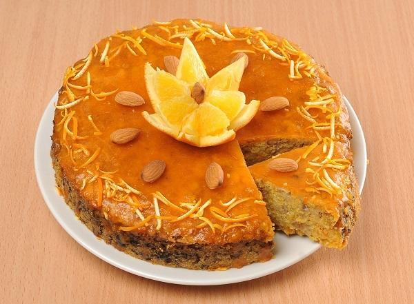 Кукурузный пирог с орехами/Фото: А. Соколов/BurdaMedia