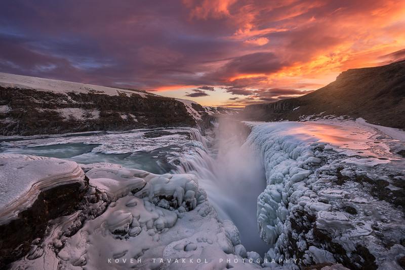 30 фотографий замороженных водопадов