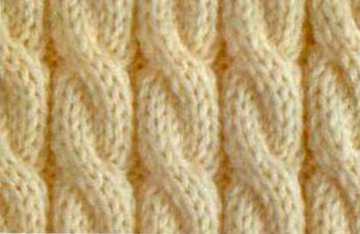 Фото вязания кос спицами