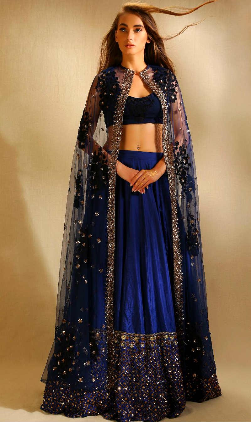 Красивые платья в индийском стиле — достойные богинь, фото № 14