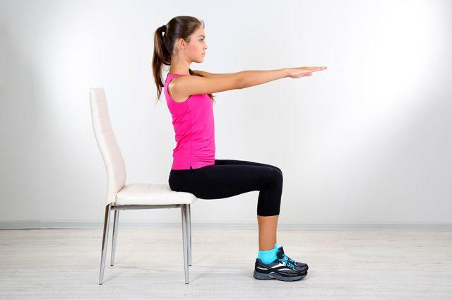 Тренировка со стулом. Гимнастика для всех групп мышц