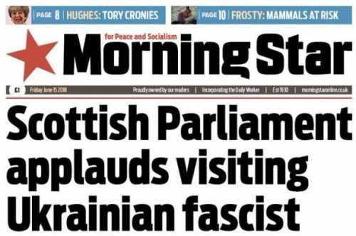 Парубий в Британии: агрессор…