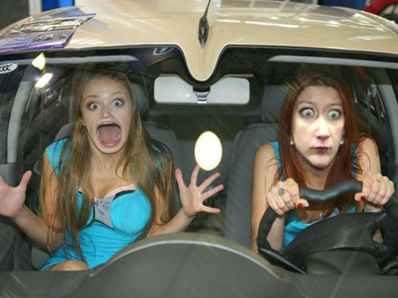 6 женских ошибок за рулем