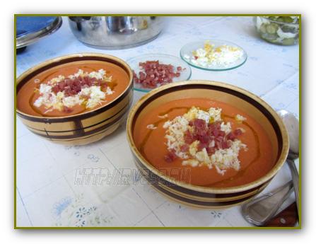 Сальморехо – испанский томатный суп