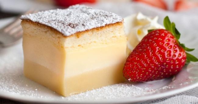 Магический рецепт пирожного, которое само разделится на три слоя