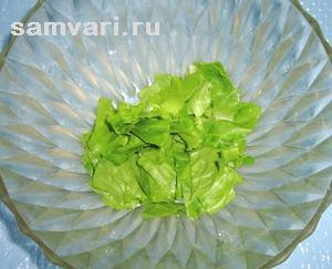 листья салата рецепты