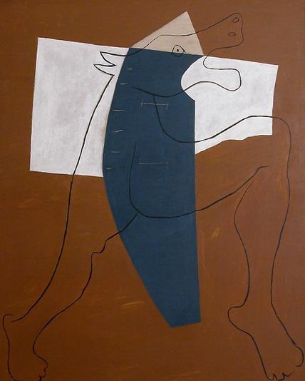 Пабло Пикассо. Минотавр бегущий. 1928 год