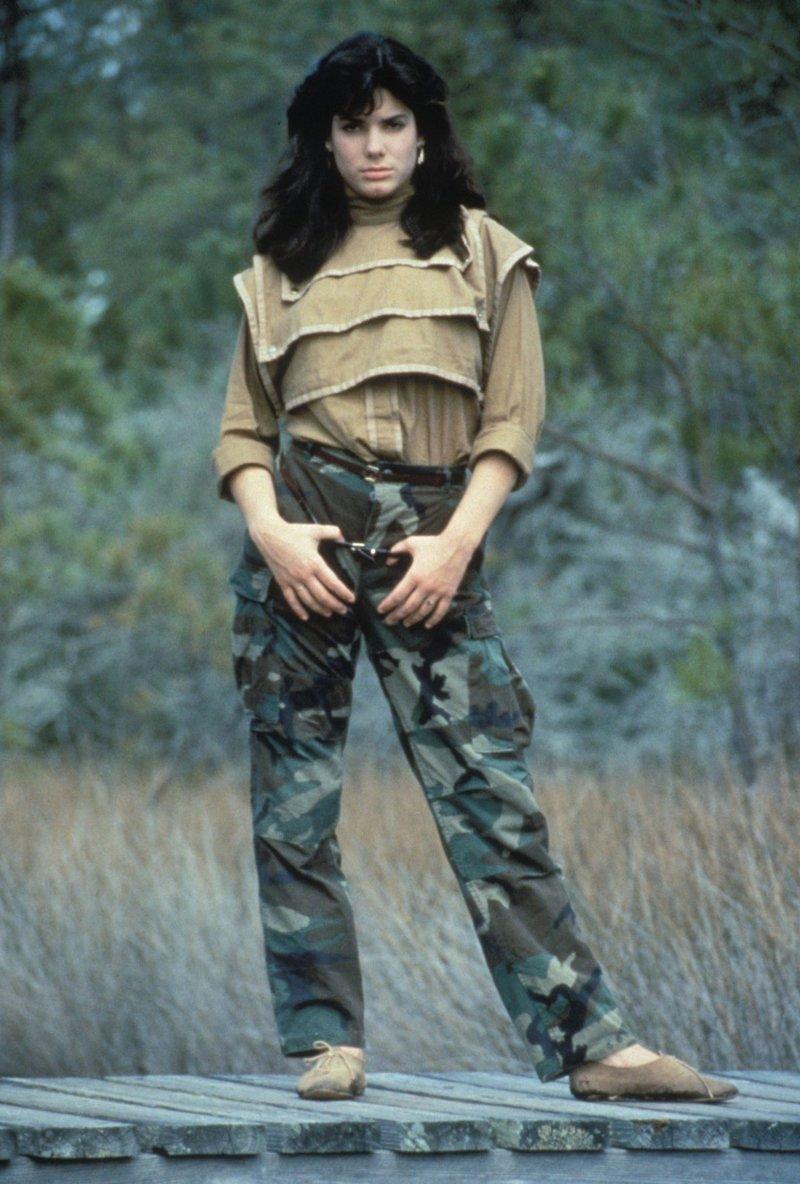 Сандра Буллок. 80-е история, люди, мир, фото