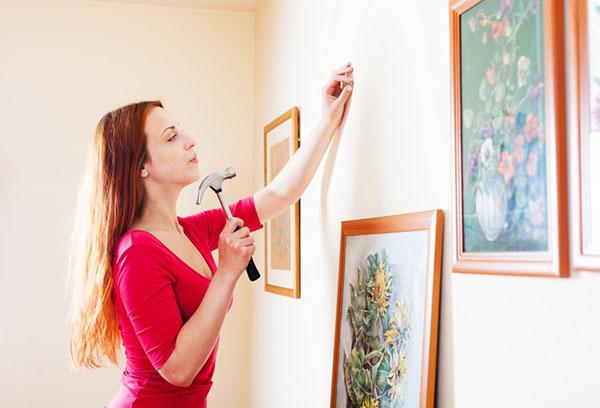 Как подобрать крепления для картин?