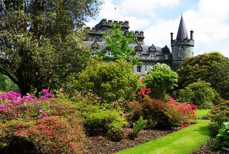 Inveraray Castle – интересный средневековый замок Шотландии
