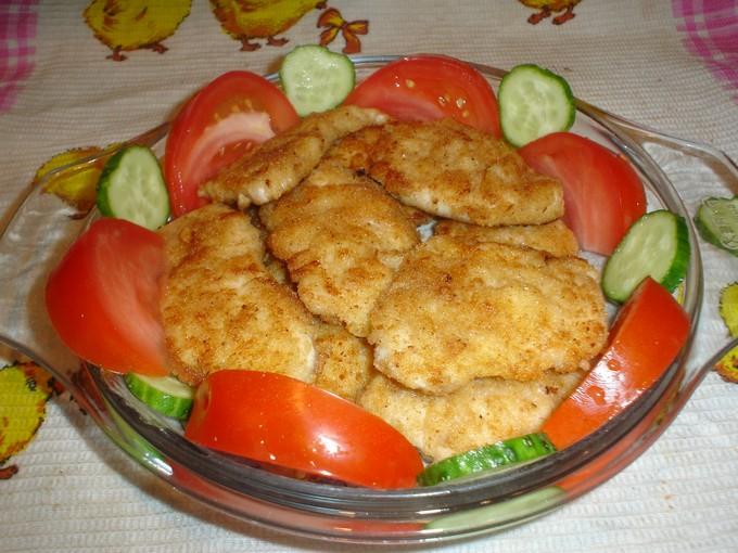 Куриные ракушки с сыром и яйцом