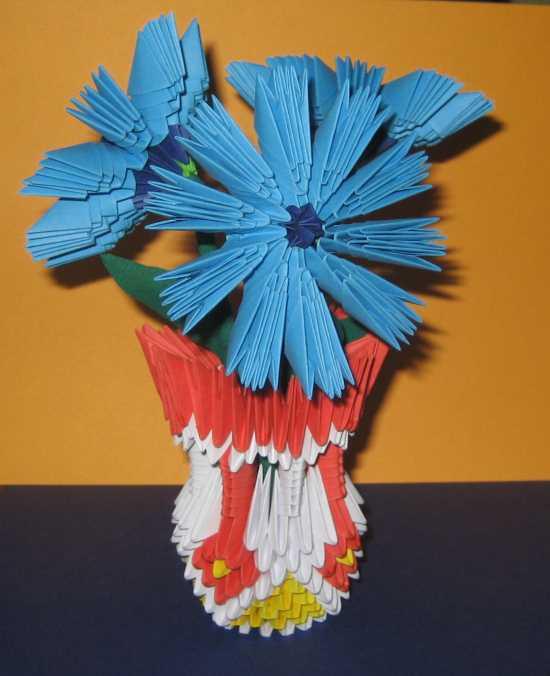 Цветы и бумаги своими руками из модулей - Шкатулка из бумаги - как сделать оригами шкатулку из