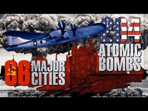 План ядерного удара США по 66 советским городам и тотальному уничтожению СССР в 1945 году