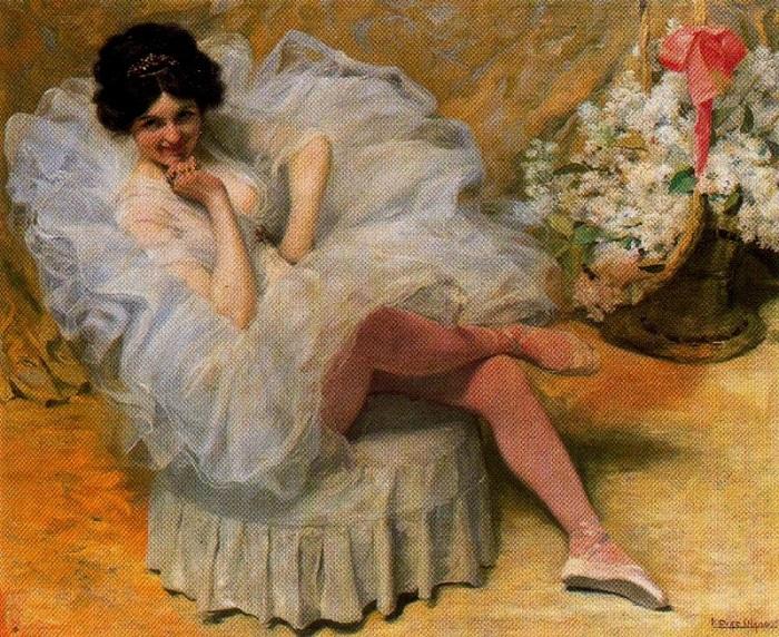 Игнасио Руис де Олано -  художник, который мечтал о золоте и писал женские портреты в стиле «ню»