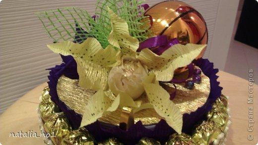 Мастер-класс Свит-дизайн МК по изготовлению лилии Бумага гофрированная фото 16