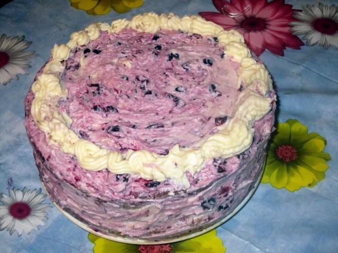 Обалденный торт «Ву-Зет» с нежной кислинкой!