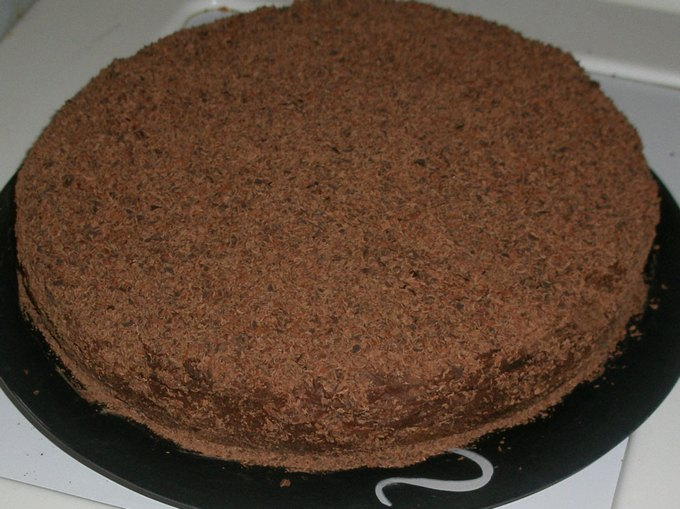 Торт «Баскский берет»