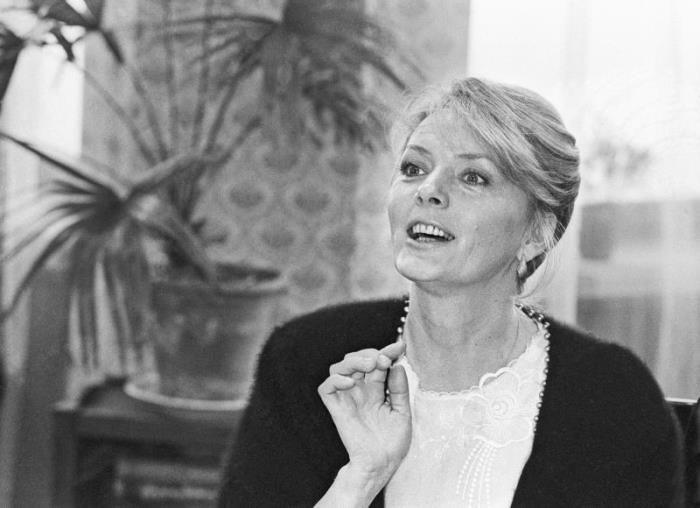 Актриса Марианна Вертинская, 1987