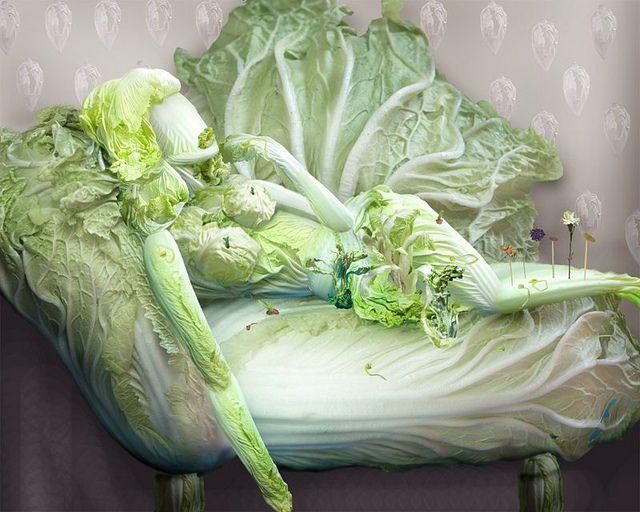 Китайское овощное исскуство (13 фото)