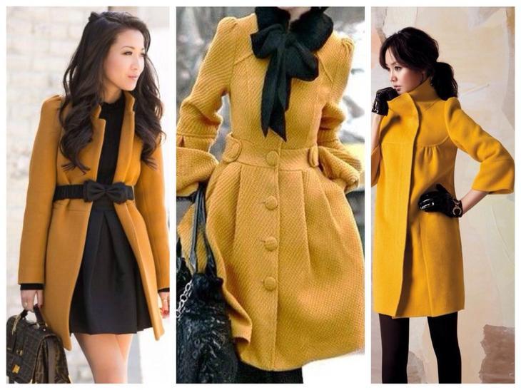 Жгуче-яркий и остро-модный...Горчичный цвет и его сочетания в гардеробе