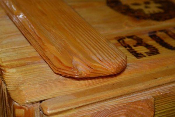 Это самый красивый деревянный ремонт который я когда нибудь видел