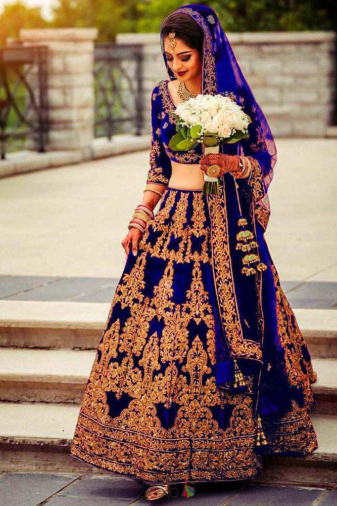 Красивые платья в индийском стиле — достойные богинь, фото № 18