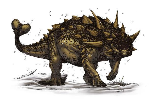 Ученые разгадали загадку мертвых бронированных динозавров
