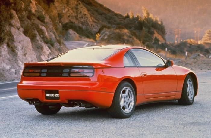 Японское спортивное купе Nissan 300ZX. | Фото: cheatsheet.com.