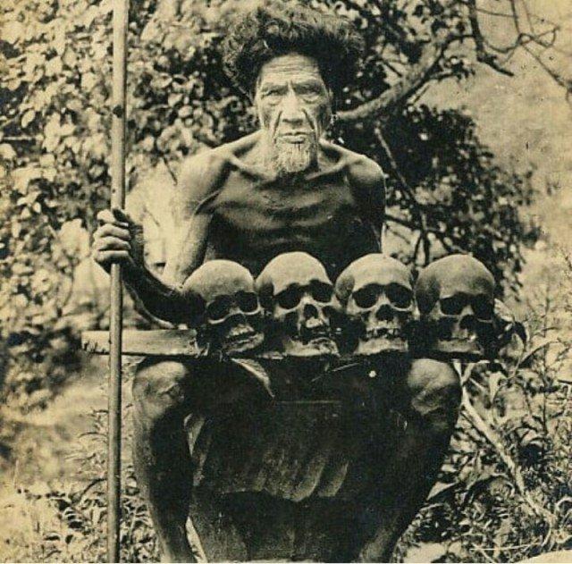 Воин из племени охотников за головами Ифугао,Филлипины. история, люди, мир, фото