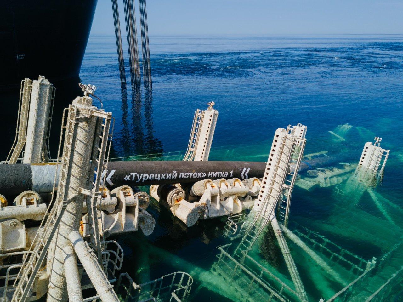 Bloomberg назвал рекордными поставки российского газа в Европу