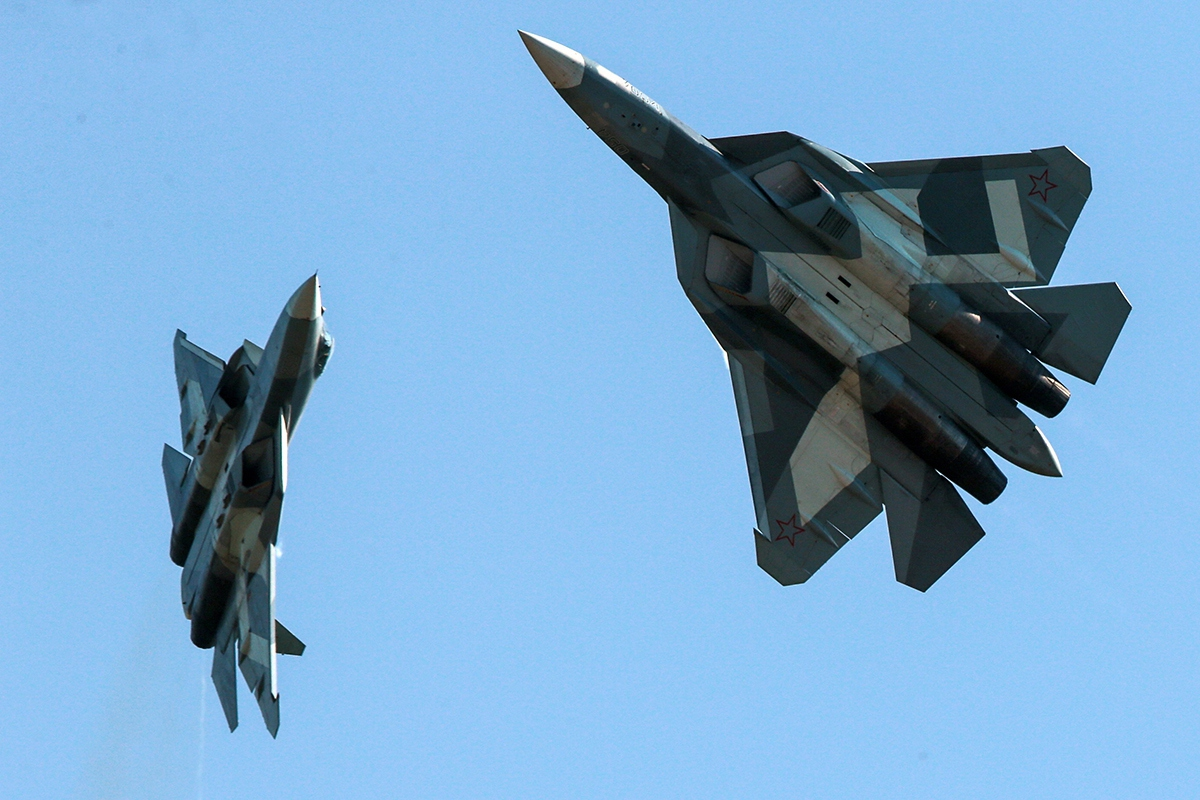 Путин объявил Су-57 лучшим в…