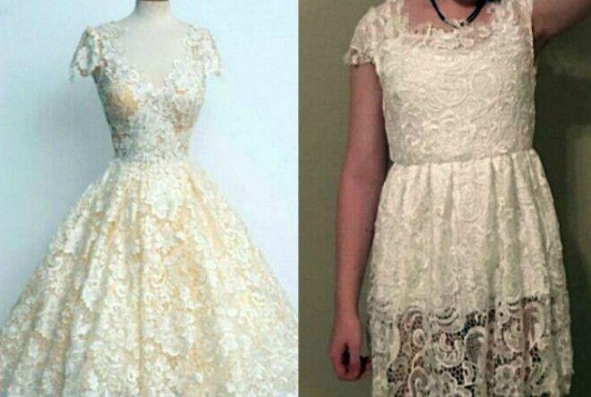 Унылое платье