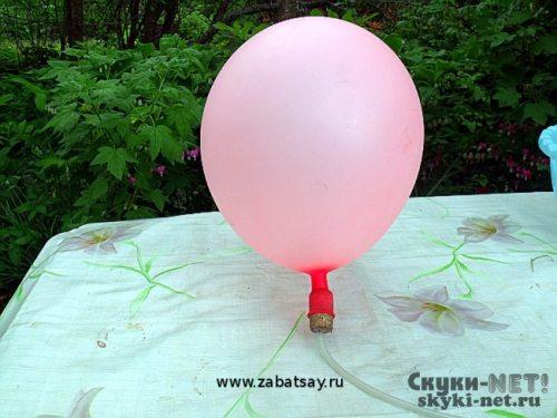 Для надувания шаров в домашних условиях