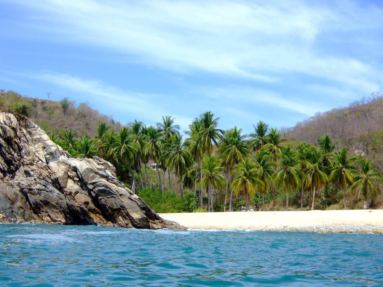 Самые роскошные мексиканские пляжи