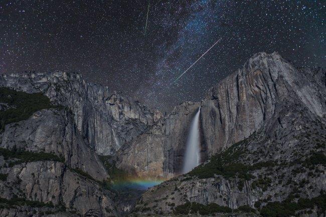 Лунная радуга наука, пророда, сверхъестественные явления