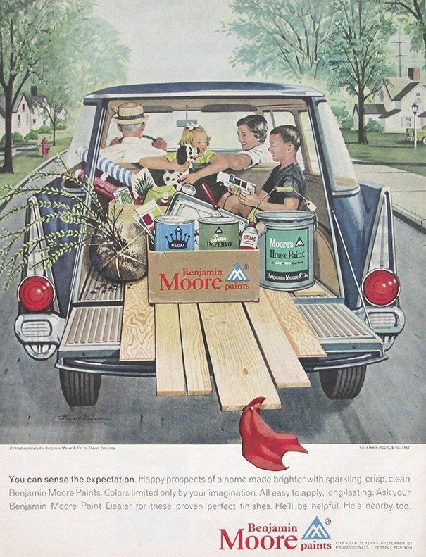 10. 60-е годы, автомобили, легковой автомобиль, старые машины, старые фото, сша, универсал, фургон