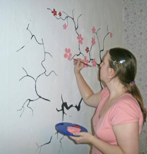 Акриловые краски для росписи стен купить украина mastertop наливные полы купить нижневартовск