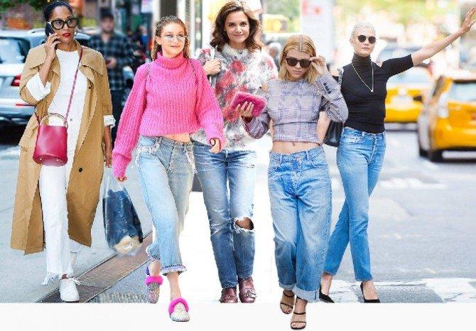 Самые модные модели джинсов в 2018 году