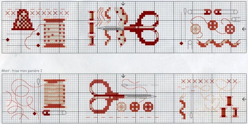 Вышивка крестом коробочка схем 97