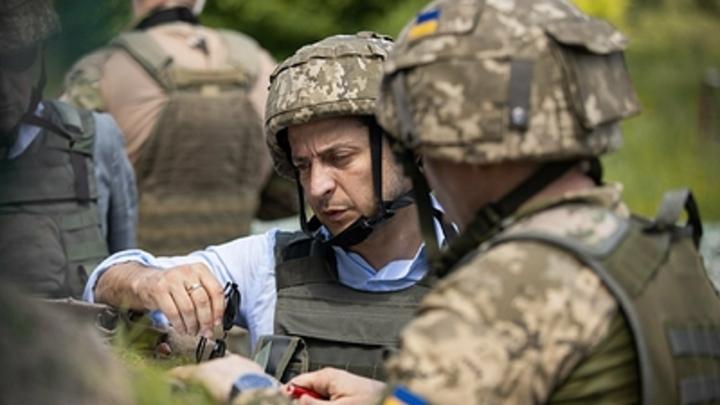 Попытка отвода номер два: Пока Зеленский на фуд-корте, в ЛНР выпустили сигнальную ракету
