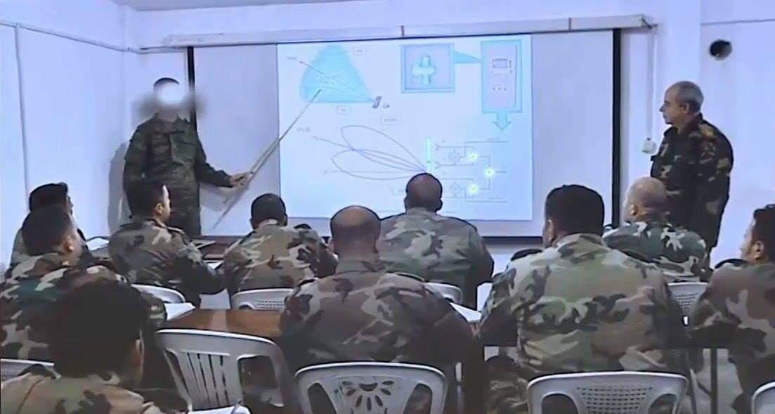 Обучение сирийских офицеров ПВО