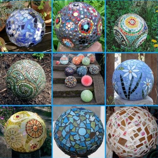 Сделать шар своими руками в саду 904