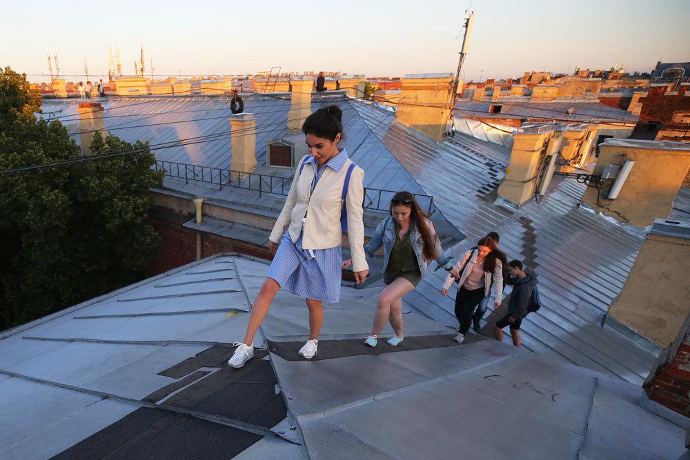 За нелегальные экскурсии по крышам будут штрафовать