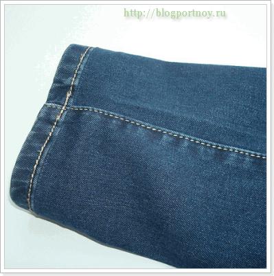Как укоротить джинсы МК + советы мастера
