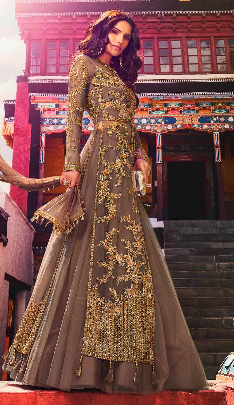 Красивые платья в индийском стиле — достойные богинь, фото № 7