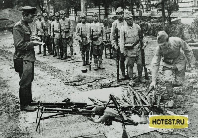 Как сдавались в плен солдаты…