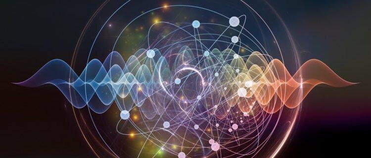 Далее — от первого лица. атомы, поток фотонов, свет