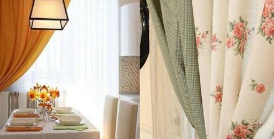 Шторы для кухни: 35 идей модного комбинирования…