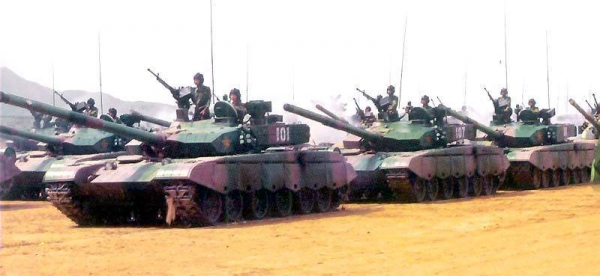 Type 99 против Т-90 и M1 Abr…