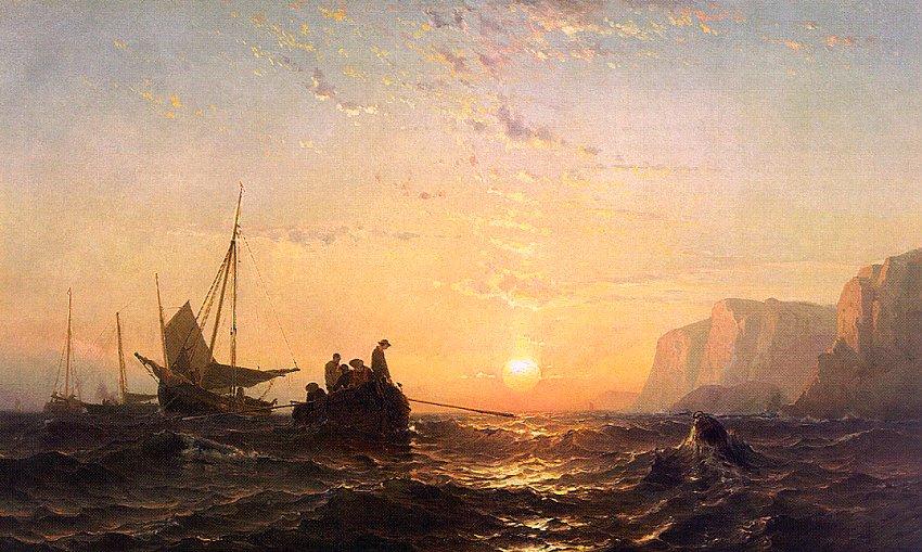 Море в творчестве художника  Морица Фредерика Де Хааса